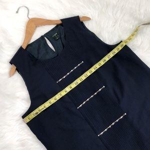 J. Crew Tops - J.Crew navy jeweled sleeveless blouse💙